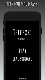 Download Teleport | Spaceship | 2D Game For PC Windows and Mac apk screenshot 1