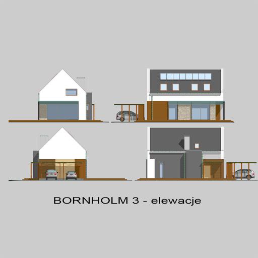 Bornholm 3 - Elewacje