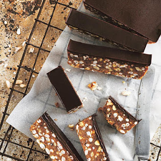 Raw Choc Peanut Slice Recipe