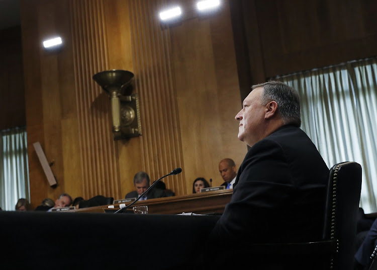 US secretary of state Mike Pompeo. Picture: REUTERS/LEAH MILLIS