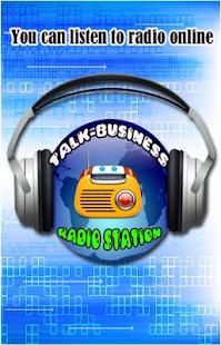 Talk-Business Radio - náhled