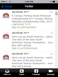 Skydive TV- screenshot thumbnail