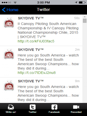 Skydive TV- screenshot