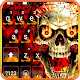 Fire Flaming Skull Keyboard Theme for PC-Windows 7,8,10 and Mac