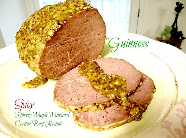 Guinness Spicy Horsey Maple Mustard Corned Beef