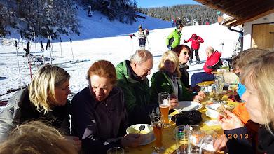 Photo: Mittagspause auf der Lorenzihütte