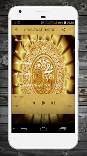 Download SHOLAWAT HADROH MP3 Google Play softwares