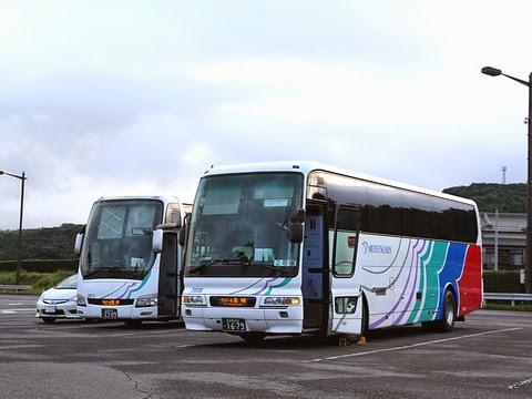 名鉄バス「グラバー号」 2302&1679 大村湾PAにて