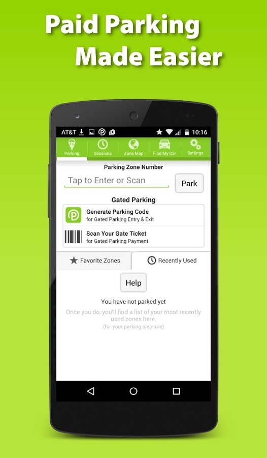 Parkmobile - Easy paid parking- screenshot