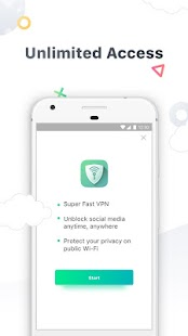 CM VPN - Fast Hotspot WiFi Proxy Screenshot