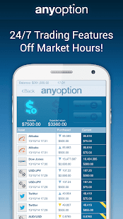 Binary Options - anyoption Screenshot