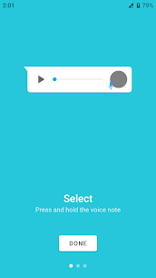 Download Transcriber for WhatsApp App For Android 1