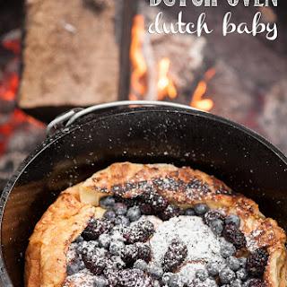 Dutch Oven Dutch Baby