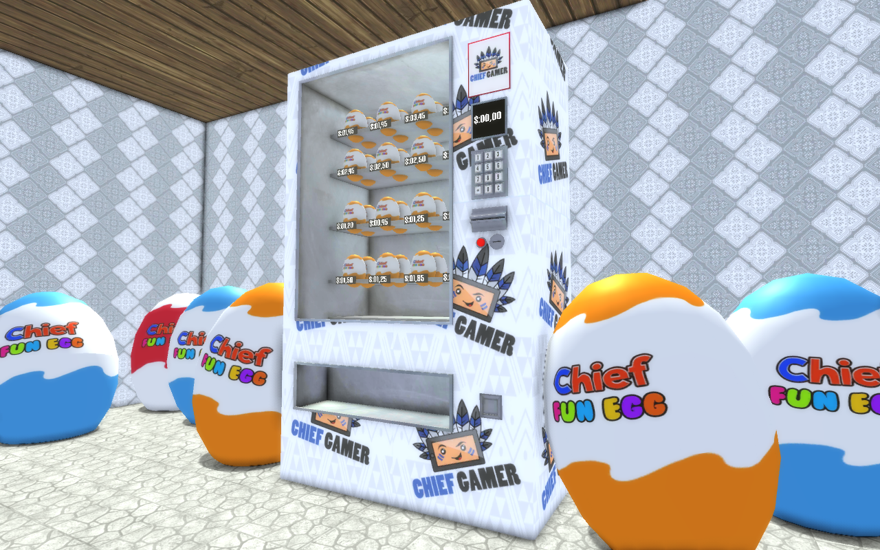 Surprise Eggs Vending Machine- screenshot