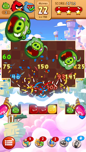 Angry Birds Blast Mod APK v1.9.6 (Infinite Money, Moves) 4