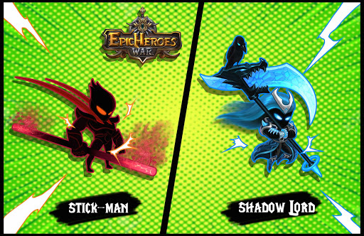 Epic Heroes: Blade Dark Shadow & Stickman Unlocked  captures d'écran 1