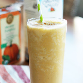 Egg Nog Pumpkin Latte Smoothie.