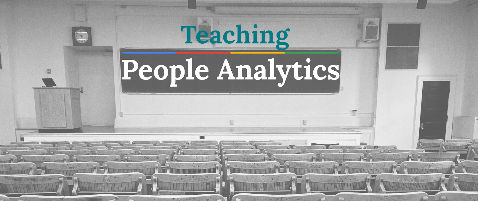 Let's use People Analytics to change how we teach HR