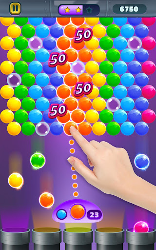 Action Bubble Game - screenshot