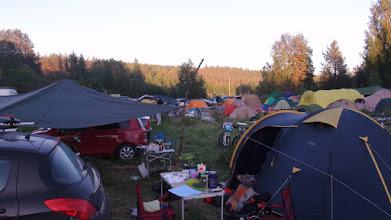 Photo: Вечер в лагере