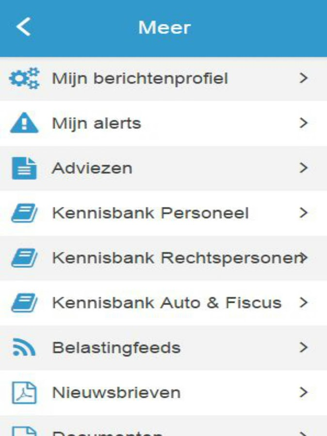 Triple A Administratie- screenshot