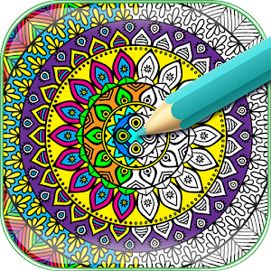 My Mandala Coloring Book App