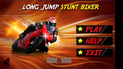Long MotorBike Jump