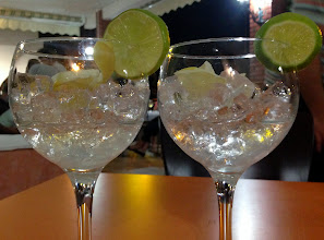 Photo: A gin and a vodka