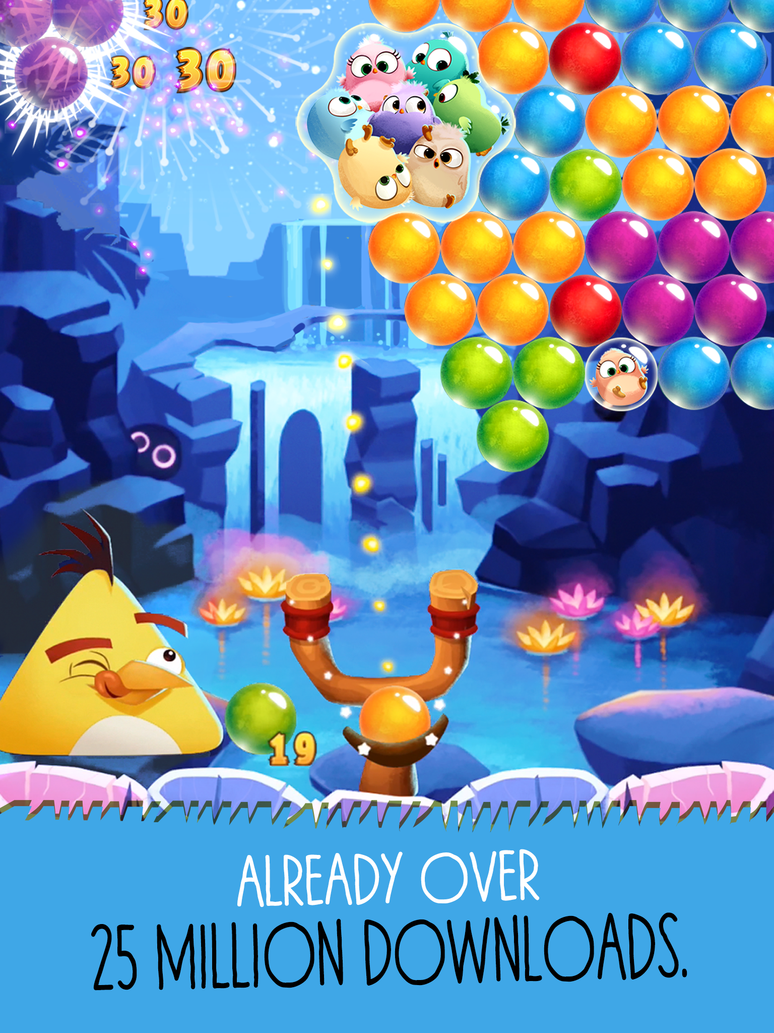 Angry Birds POP Bubble Shooter screenshot #7