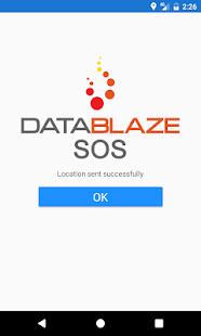 Datablaze SOS - náhled