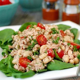 Cannellini Tuna Salad.