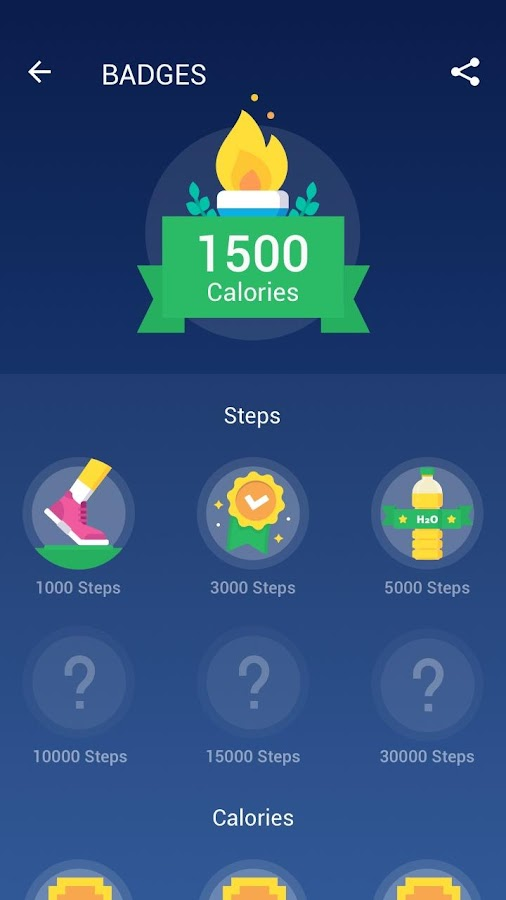 Step Counter - Pedometer Free & Calorie Counter- screenshot