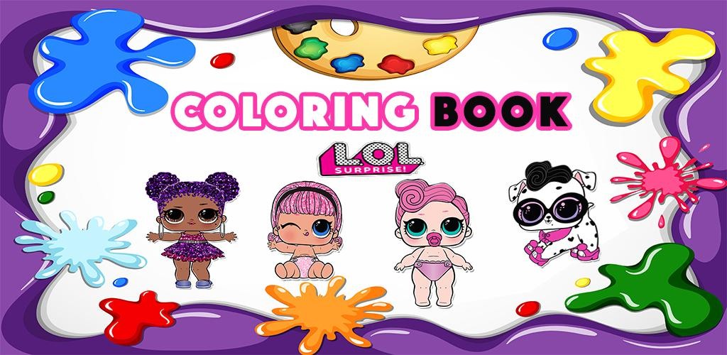 Unduh Buku Mewarnai Boneka Bayi Kejutan Lol 1 5 Apk Com