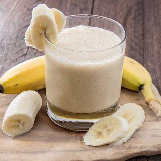 Banana Coffee Oatmeal Smoothie