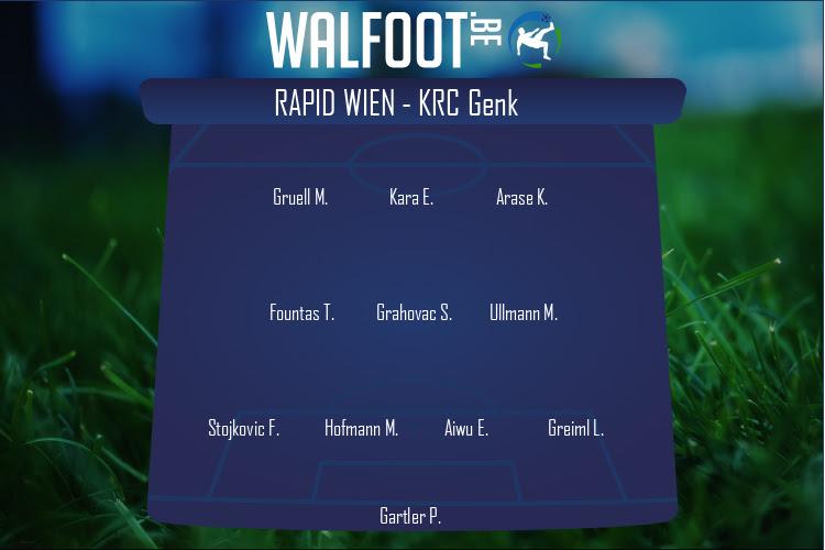 Rapid Wien (Rapid Wien - KRC Genk)
