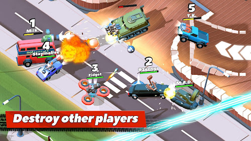 Crash of Cars Screenshot