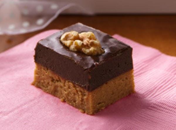 Caramel-chocolate Layered Fudge Recipe