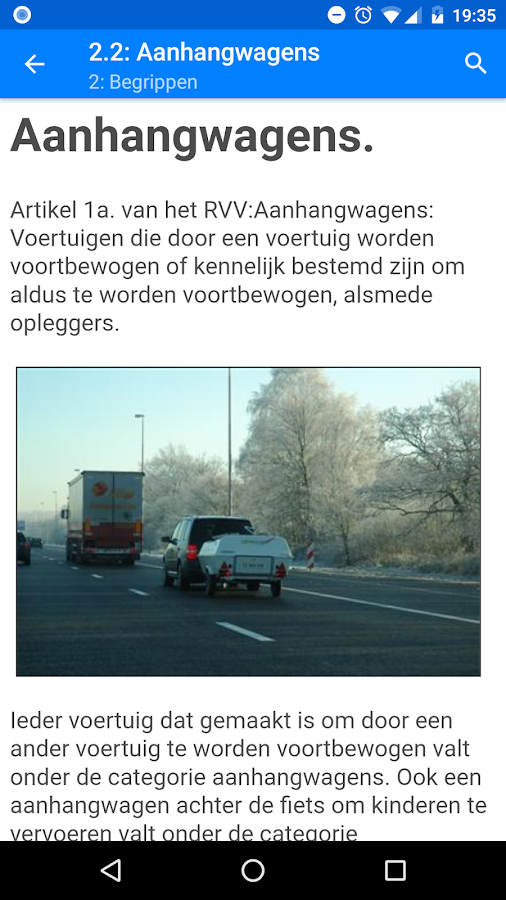 Theoriecursus - Free dutch theory book for the car- screenshot