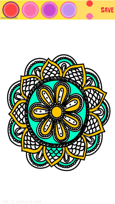 Mandala Coloring Pages 40
