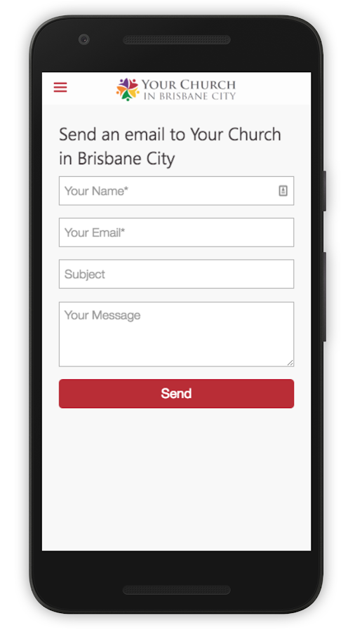 Your Church in Brisbane City- screenshot