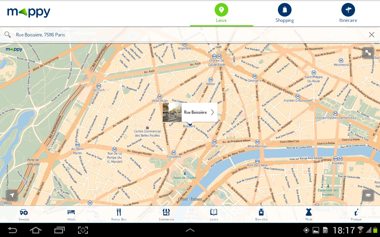 Mappy- Itinéraire & Vie locale - screenshot