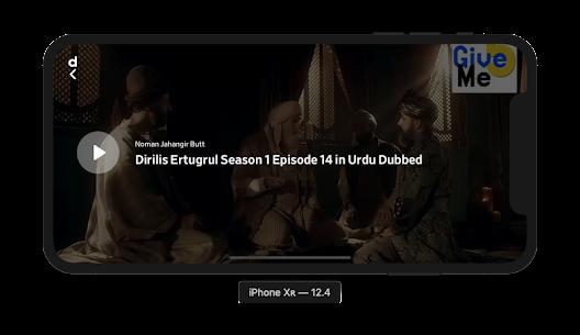 Miraj TV: Ertugrul Ghazi seasons in Urdu & English 3