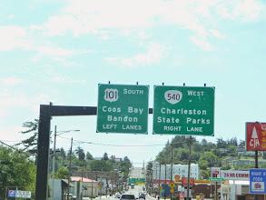 Photo: Signs, Coos Bay - Charleston