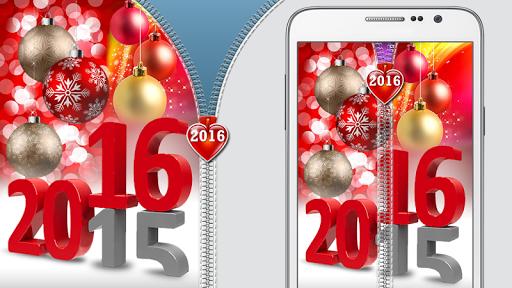 新的一年2016年拉链锁