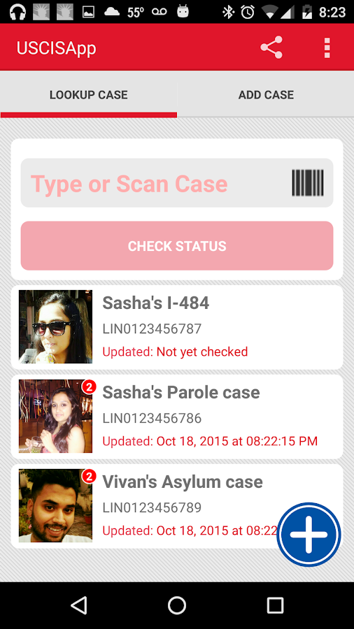 Uscis Case Amp Visa Notification Android Apps On Google Play