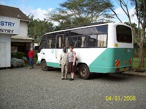 Photo: Team bus