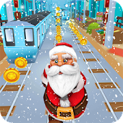 Subway Santa Run