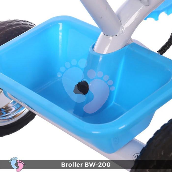 Xe đạp 3 bánh Broller XD3-200 có cây đẩy 16