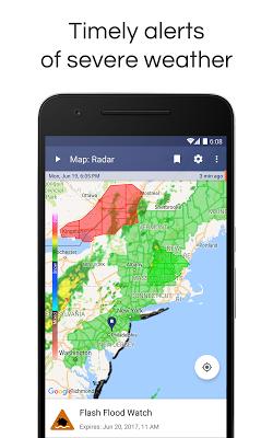 NOAA Weather Radar & Alerts - screenshot