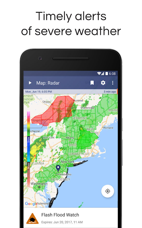 NOAA Weather Radar & Alerts- screenshot
